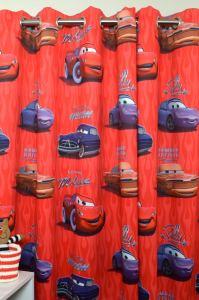 Cars gordijnen