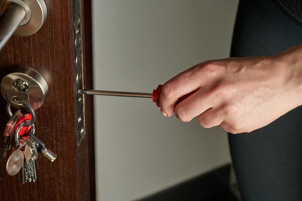 sleutel afgebroken in slot